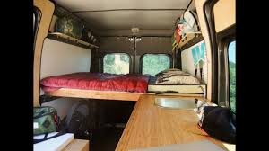 simple promaster camper van conversion kits by wayfarer vans