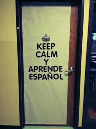 spanish classroom door. Wonderful Door Spanish Classroom Door Decoration Traced The Crown Colored It Black And  Bought Black Letters Super Easy On Classroom Door O