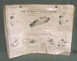 Stanley Plane Size Chart 2 Old 1928 Stanley Block Plane How To Use Adjust Charts