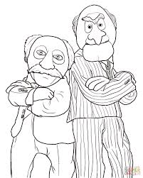 Statler And Waldorf Coloring Pages 5