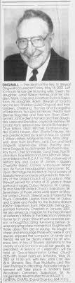Obituary: Rev. N. Stewart Dingwall - Newspapers.com
