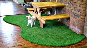breakfast room turf rug to brighten the space fake grass carpet green outdoor artificial area
