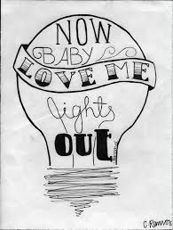 Love Me Lights Out Love Me Lights Out On Behance