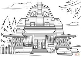 Small Picture House Coloring Page Stock Illustration Image Book Kids Home Color