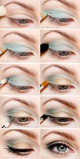 the right way to do blue eye makeup so you don t look like a
