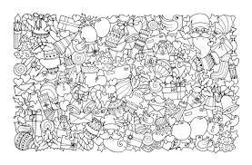 Coloring Pages Ideas Christmas Coloring Sheets Free For Children