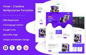 50 Multipurpose Bootstrap Templates Graygrids