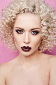 amazing blue eyes curly blonde hair