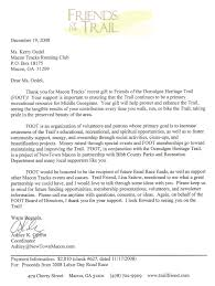 thank you letter to donors nonprofit thank you letter