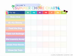 10 Chore Charts For Parents