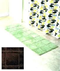 bathroom runner inch bath runner bath rug bathroom runner rugs back to best choices x cotton