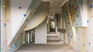home climbing wall interior design 3d