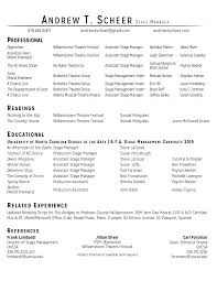 resume stage manager resume template stage manager resume full size