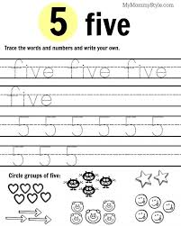 Comfortable Worksheets Preschool Free For 13 Best Images Of Math ...