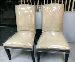 awesome plastic seat covers for dining room chairs vinyl chair covers dining chairs chair design ideas
