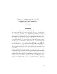 Pdf Basic Functional Trade Offs In Cognition An Integrative Framework