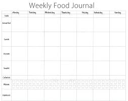 Sample Food Journal Template 005 Food Diary Template Excel Of Impressive Ideas Weekly