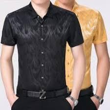 <b>Unisplendor Men</b> Dress Shirts <b>Summer Short</b> Sleeve <b>Man's</b> Solid ...
