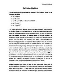 explore shakespeare s presentation of women in the following   taming of the shrew page 1 zoom in
