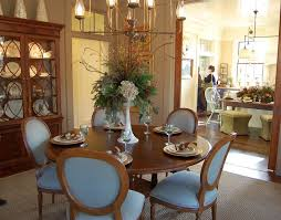 amazing centerpiece ideas for dining room with round dining table also victorian dining chairs