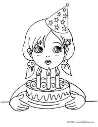 Birthday Party Coloring Pages Coloring Pages Printable Parents With