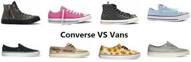 converse vs vans. converse vs vans