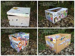 Decorated Cardboard Boxes Free Fun Friday Supplies Box Free fun fridays Cardboard boxes 2