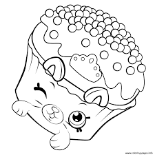Small Picture Shopkins Petkins Cupcake Coloring pages Printable