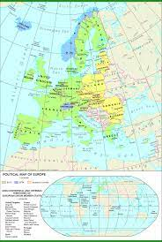 Political map of Europe — European Environment Agency