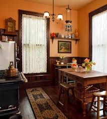 Selecting Curtains For Your Period Kitchen Old House Journal Magazine