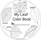Small Picture Leaf Theme at EnchantedLearningcom