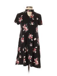 Details About Joe Boxer Women Black Casual Dress S