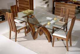 glass top dining room tables rectangular glass top dining room tables rectangular prepossessing design of set