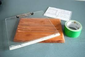 homemade recipe book holder wooden cookbook stand diy making a