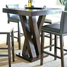 pub dining table intended for round sets kitchen room bar stool plan 15