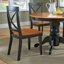 home styles dining chair black and cote oak finish set of 2 description dining chair is made of a solid hardwood