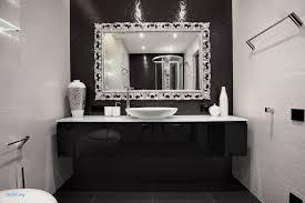 bathroom mirror chrome. Carved Silver Framed Mirror With Chrome Tone For Bathroom Ideas E
