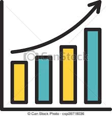 Icon Bar Chart Bar Chart Outline Icon