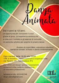 sicrea flyer attivazione progetto danzanimata associazione unopertutti