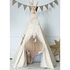 Dream Catchers Furniture HANMM Large Teepee Children Playhouse with a Dream Catcher and 74