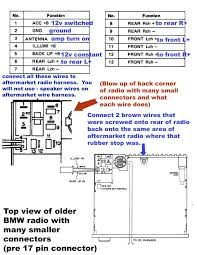 bmw i e stereo harness bmw forum com click image for larger version olderbmwradiodiagramcopy jpg views 14193 size 121 5