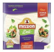 <b>Mission</b> Deli <b>Лепешки пшеничные</b> бездрожжевые 250 г — купить ...