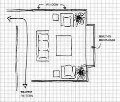 Basic Layout Using Graph Paper In 2019 Living Room