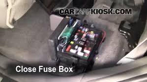 interior fuse box location chevrolet trailblazer  interior fuse box location 2002 2009 chevrolet trailblazer 2005 chevrolet trailblazer ls 4 2l 6 cyl