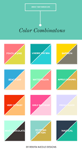 12 Color Combinations Color Combos Color Inspiration And
