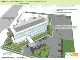 sustainable office building. Portfolio New Office Building Blitch Knevel Architects Pontchartrain Housing Corporation Sustainable A