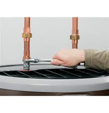"""geospringâ""""¢ hybrid electric water heater geh50dfejsr ge appliances installs like a standard electric water heater the same top water and electrical connections making replacing your old standard water heater quick and"""