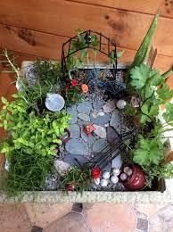 Beautiful Fairy Gardens Create A Beautiful Fairy Garden In 8 Steps  Positively Smitten
