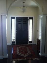white interior front door. Repainted Black Front Door Interior Paint Adding Class Picture With Cool Doors White Painting