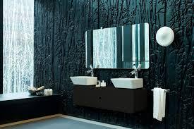 best paint for bathroom wallsBlackBathroomDesignWithTheBestPaintColorForWalls